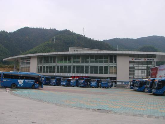 黄山风景区新国线游客集散中心主站房